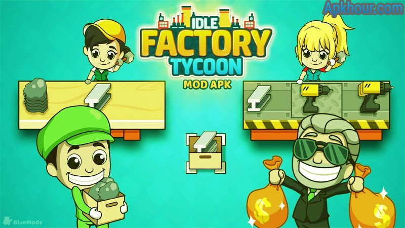idle factory tycoon mod apk